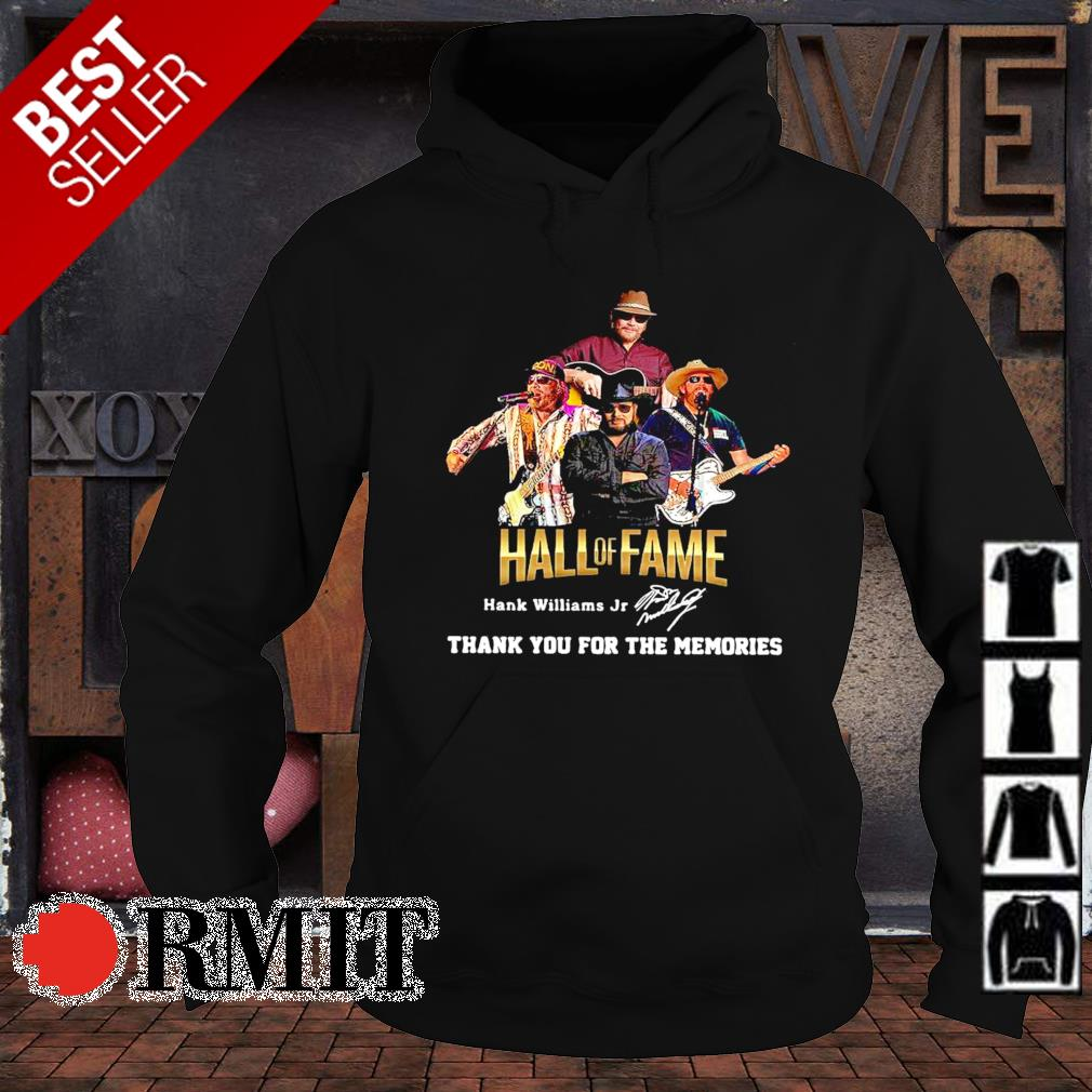 Hank Williams Jr Hall of Fame thank you for the memories s hoodie1