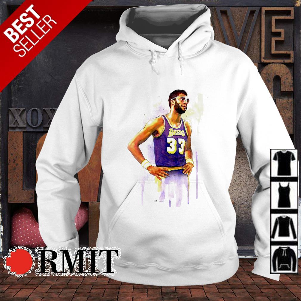 Lakers Kareem Abdul Jabbar 33 s hoodie