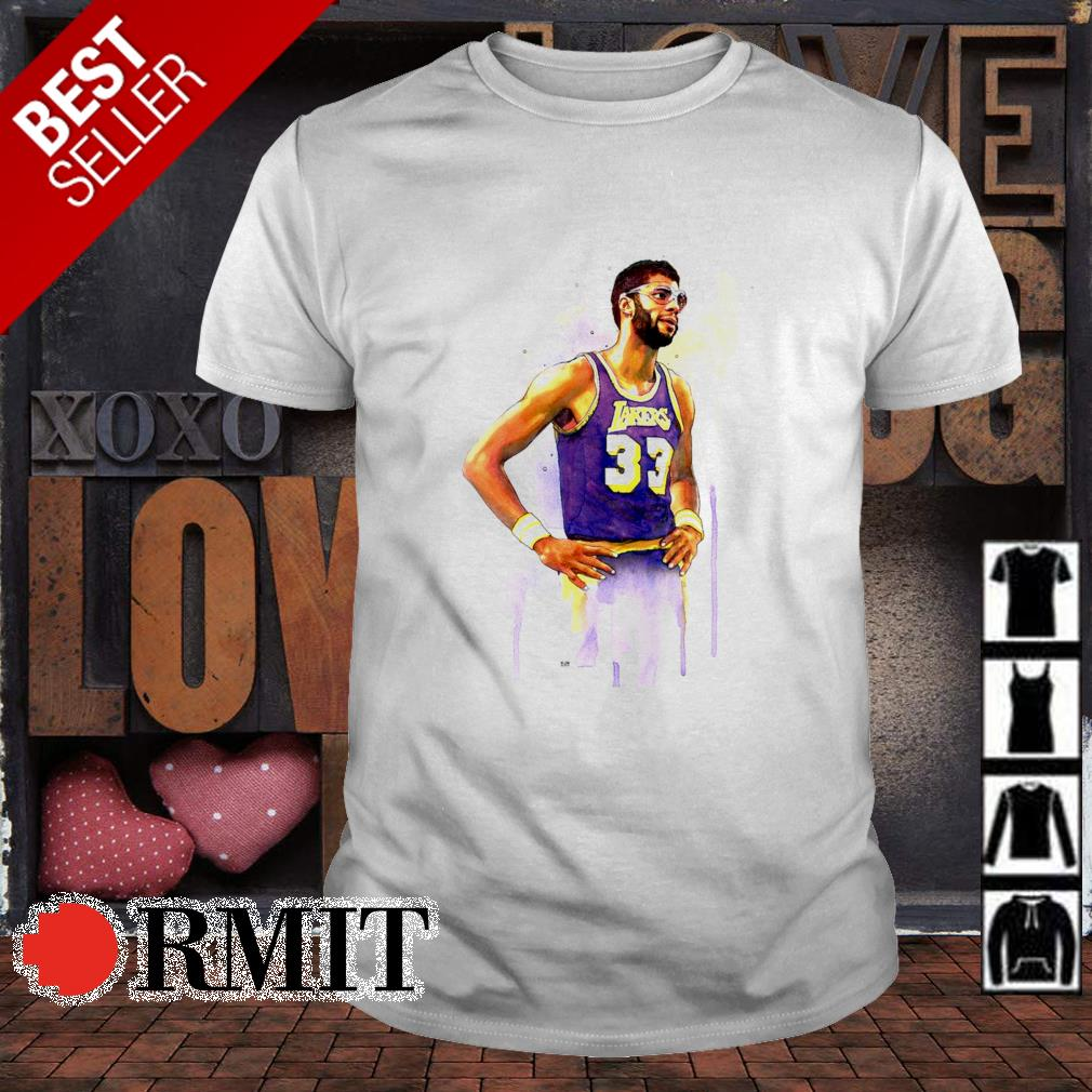 Lakers Kareem Abdul Jabbar 33 shirt