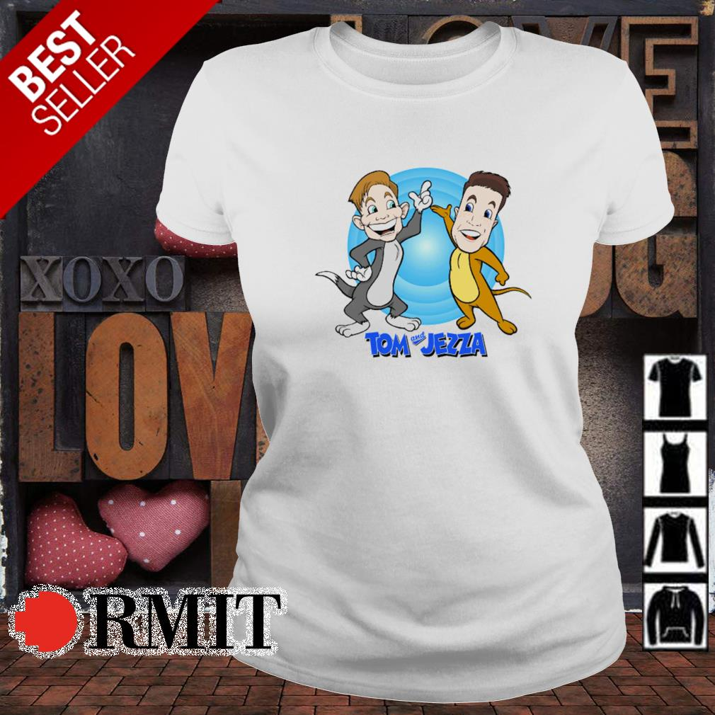 Tom and Jerry Tom and Jezza s ladies-tee