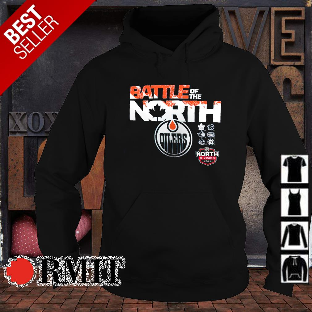 Battle of the north Edmonton Oilers s hoodie1
