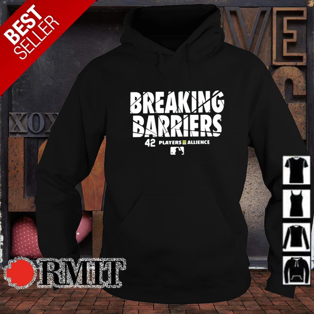 Breaking barriers 42 players allience s hoodie1