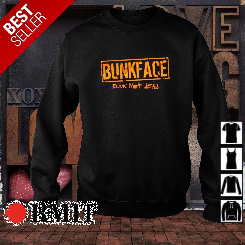 Bunk not dead Bunkface s sweater1