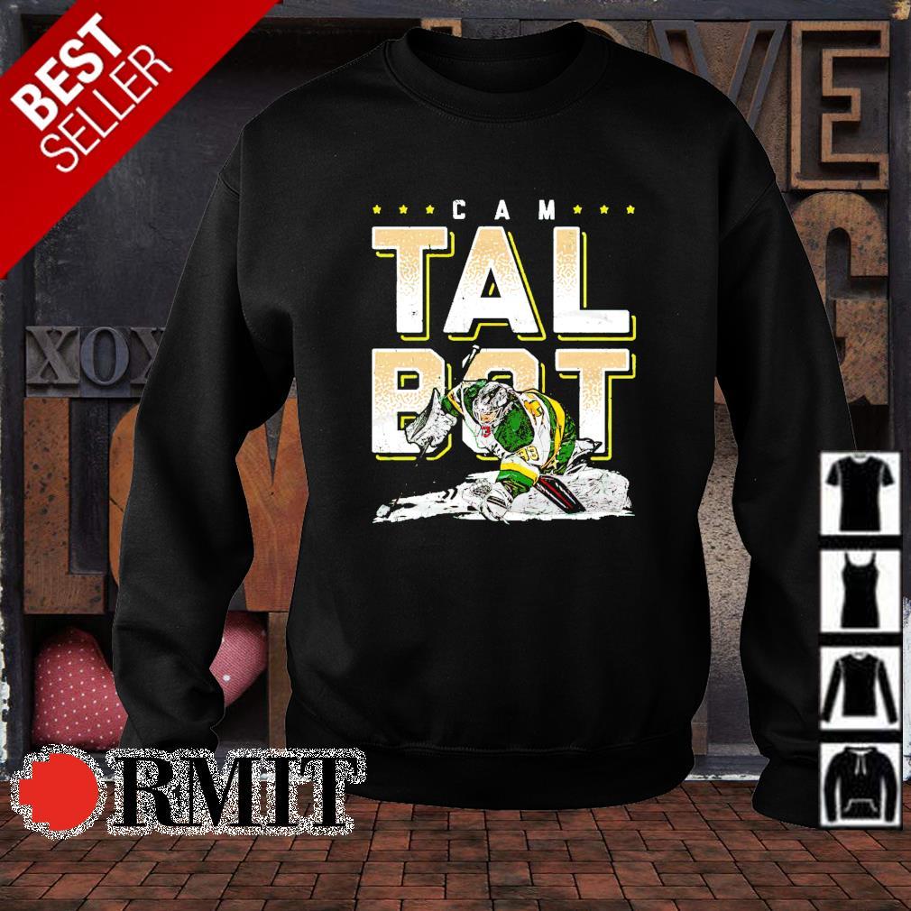 Cam Talbot Minnesota Hockey best player s sweater1