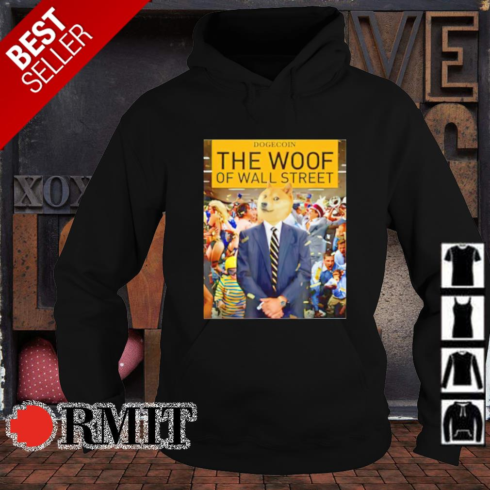 Dogecoin The Woof of the wall street s hoodie1