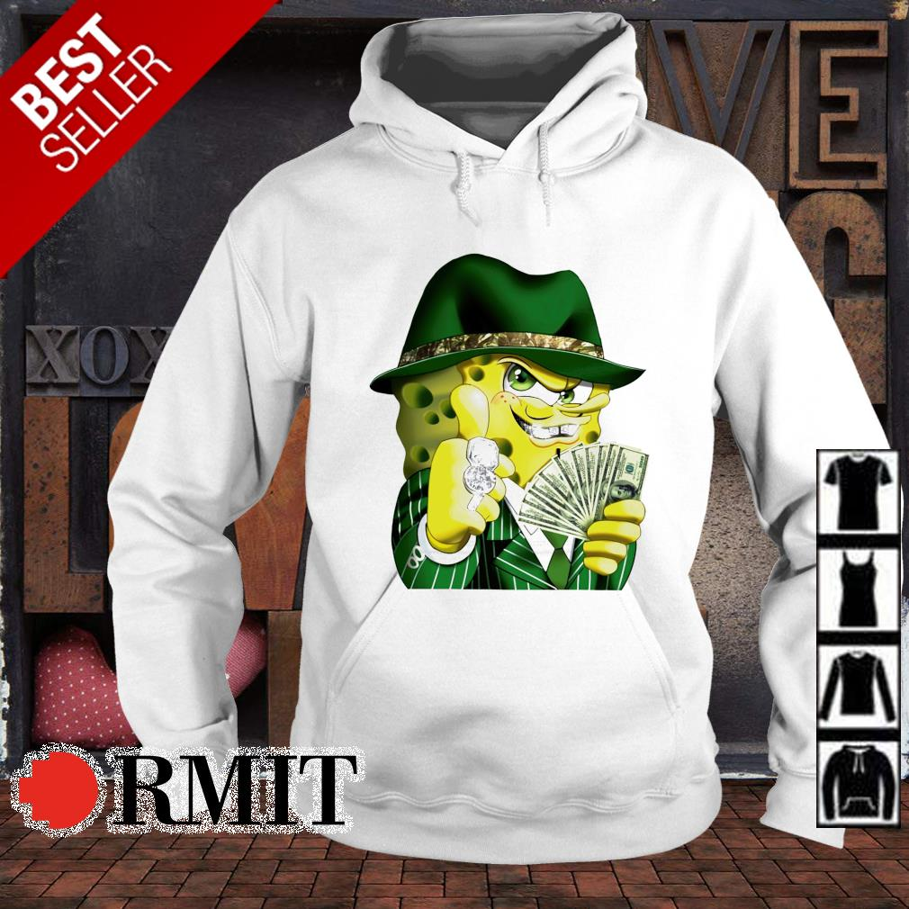 Gangster spongebob s hoodie