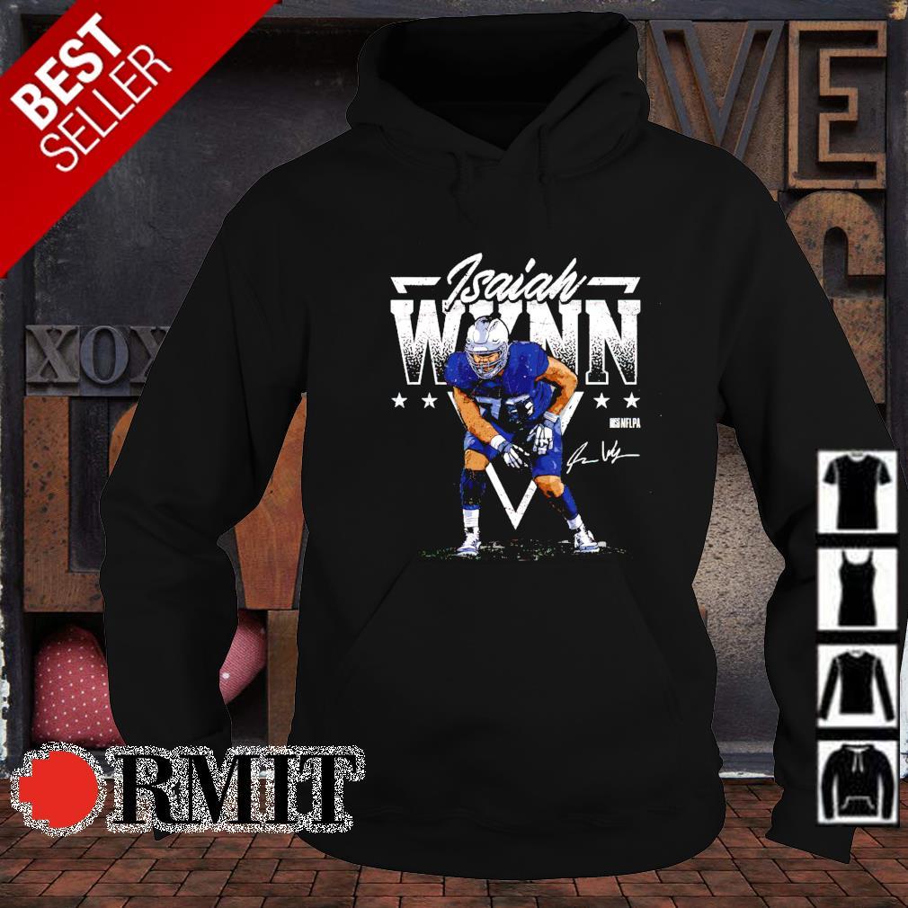 New England Football Isaiah Wynn Triangle s hoodie1