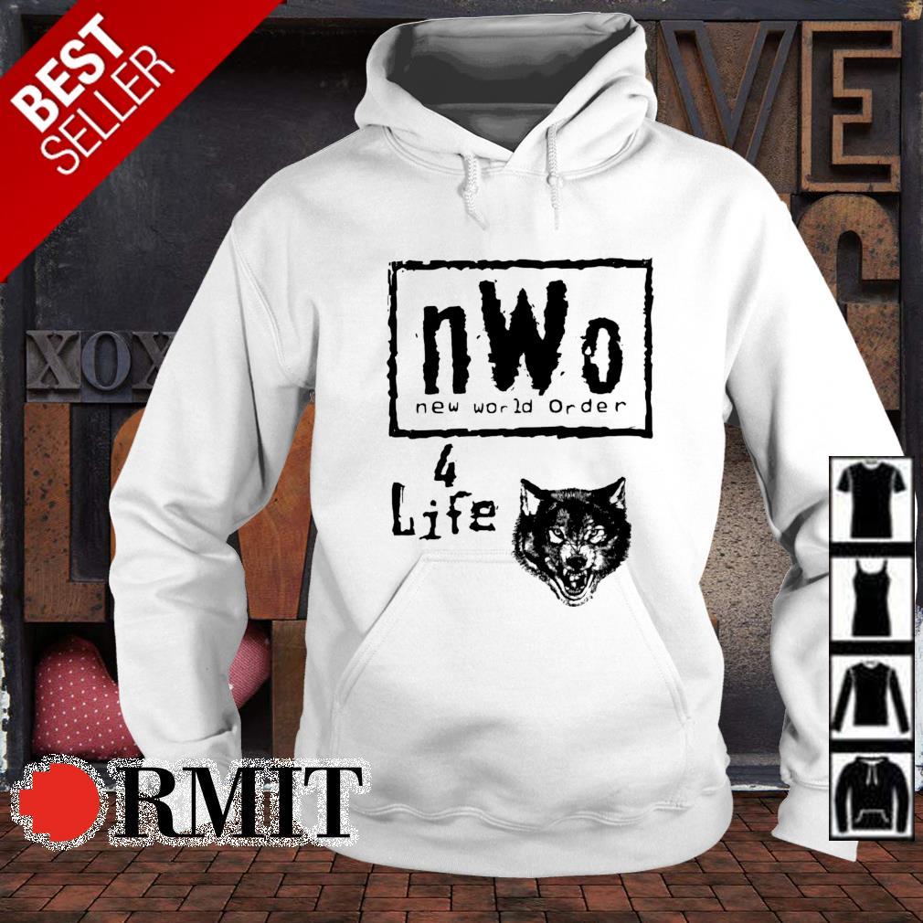 Nwo new world order 4 life s hoodie