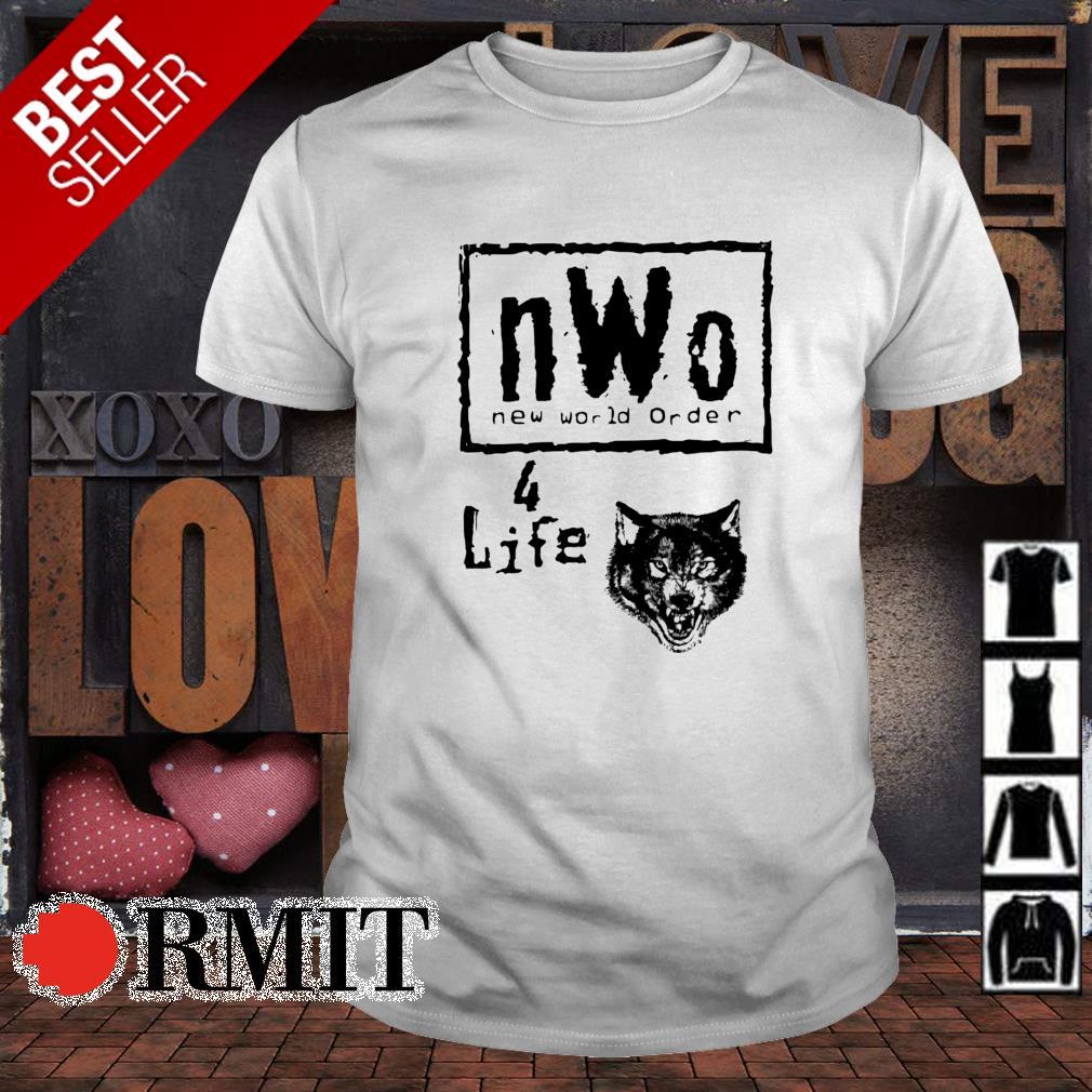Nwo new world order 4 life shirt