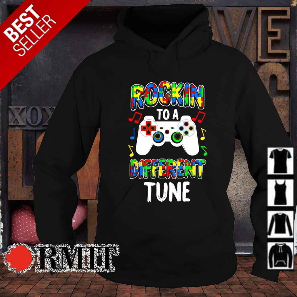 Rocking to a different tune Autism s hoodie1