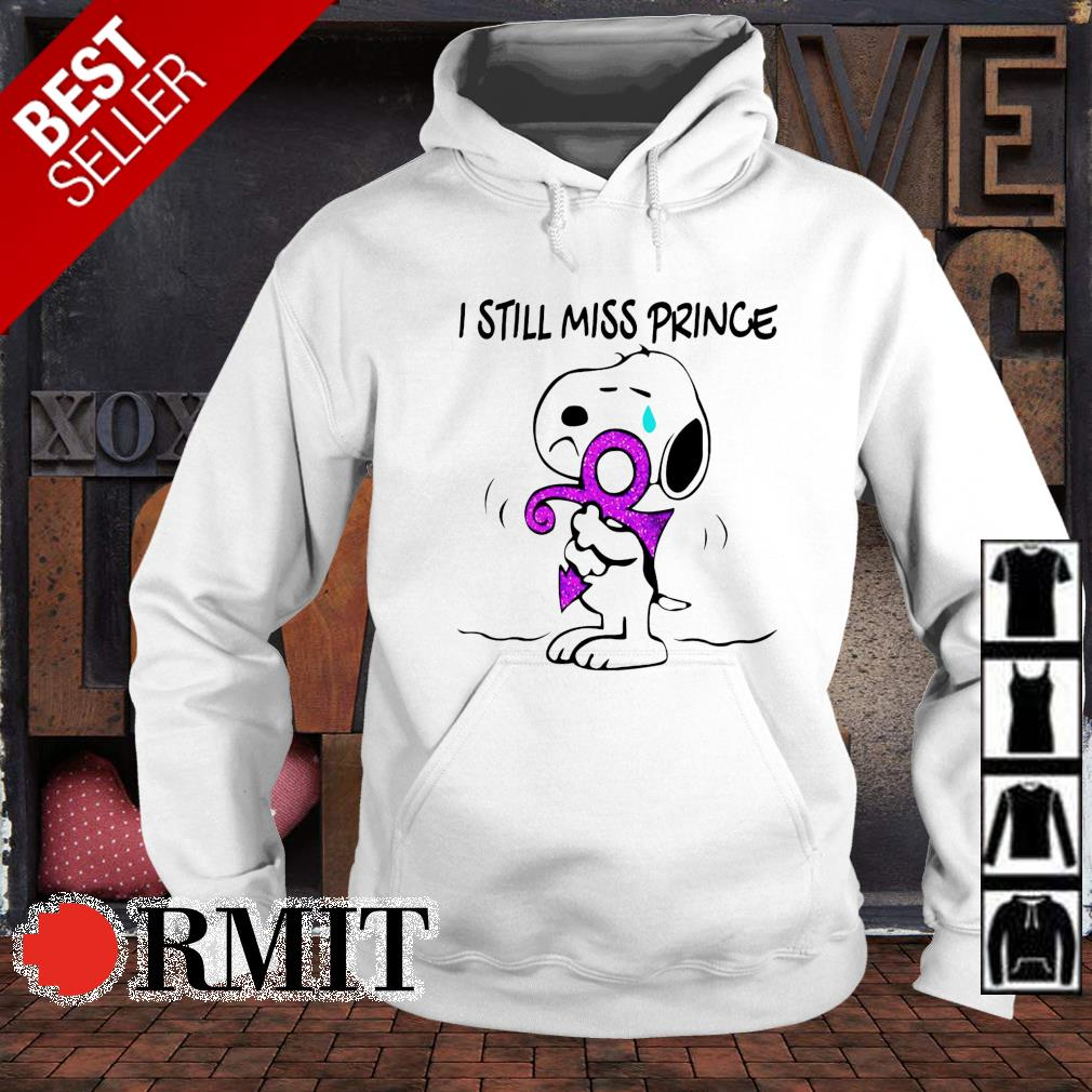 Snoopy hugging I still miss prince s hoodie