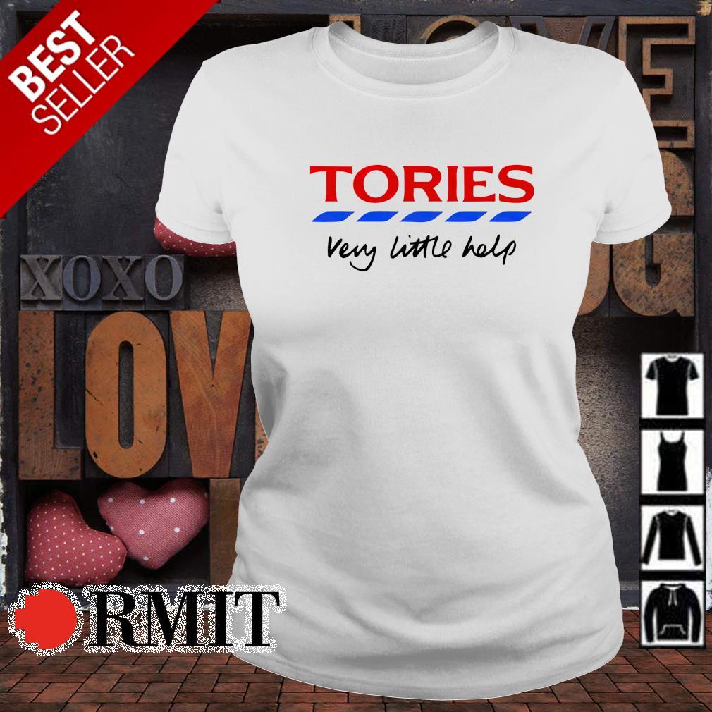 Tories very little help s ladies-tee