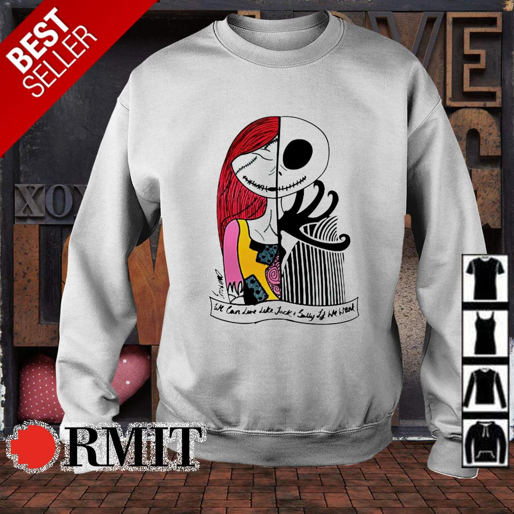 We can love like Jack and Sally if we want s sweater