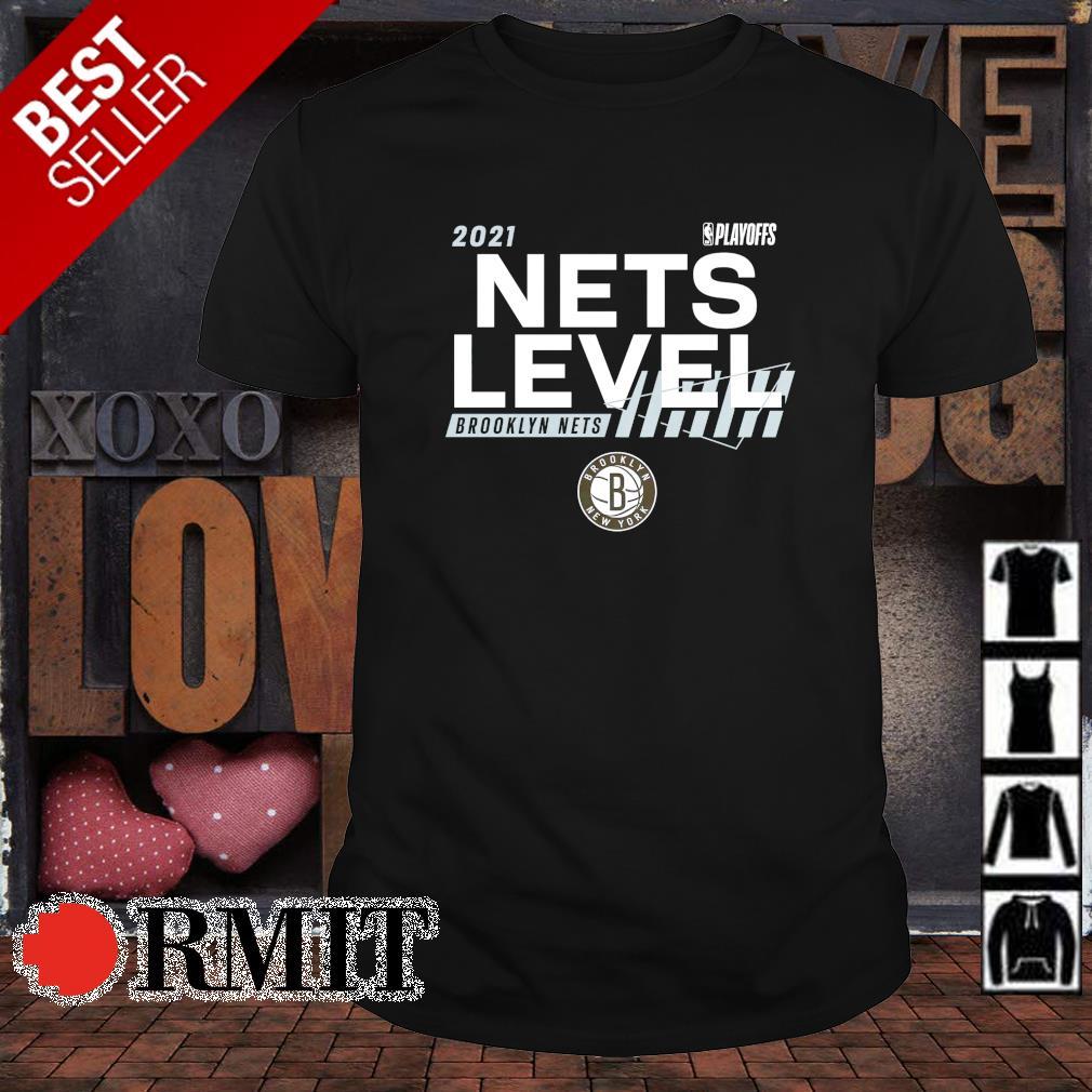 Brooklyn Nets Nets level 2021 NBA Playoffs shirt
