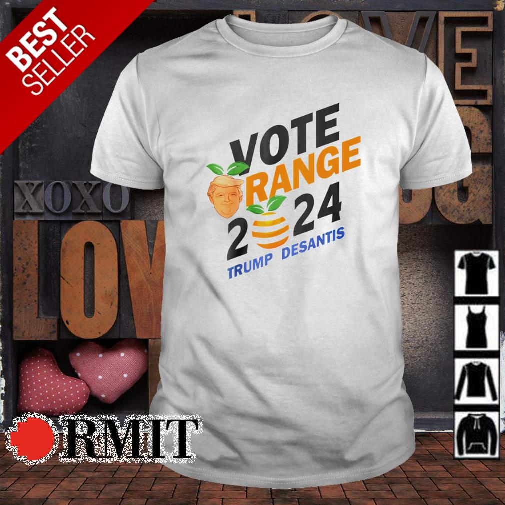Vote Orange 2024 Trump DeSantis shirt