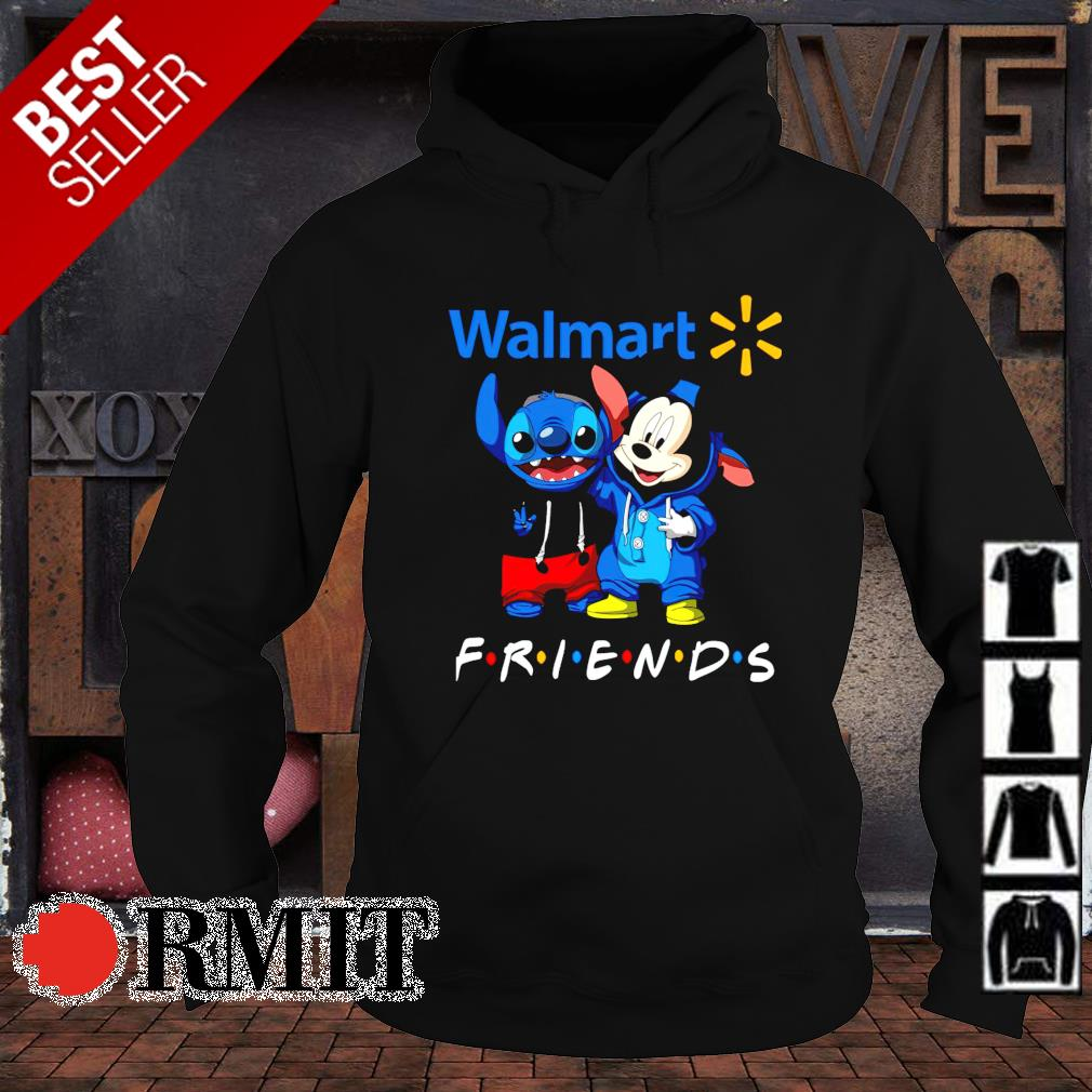 Walmart Mickey and Stitch are friends s hoodie1
