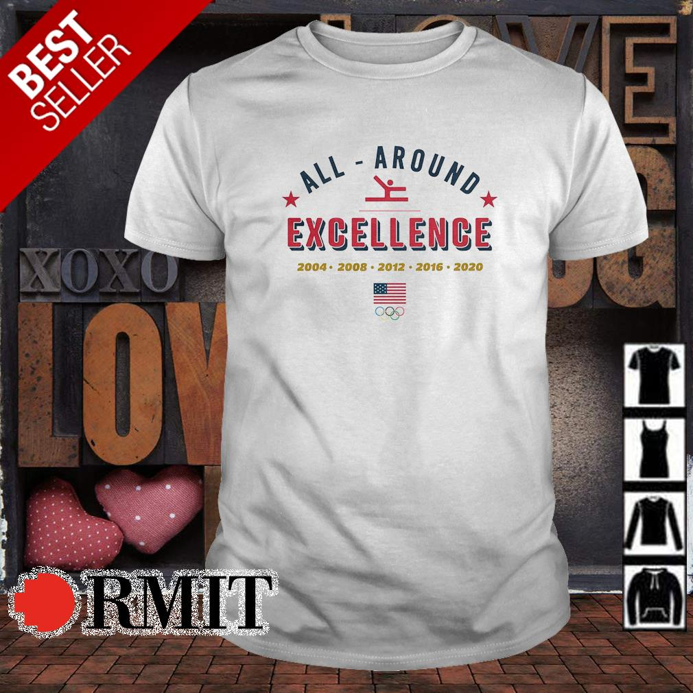 Team USA all around excellence Olympic shirt