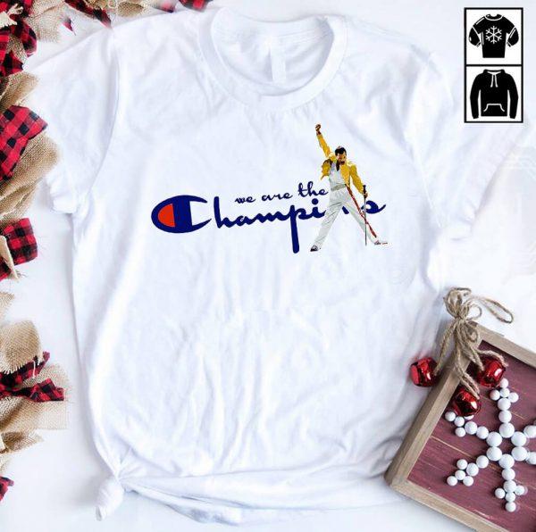 Freddie Mercury We are the Champion shirt