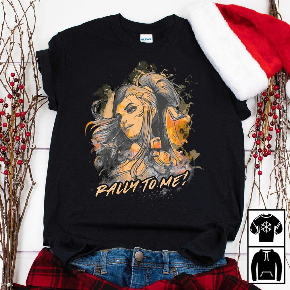 Overwatch Brigitte rally to me shirt