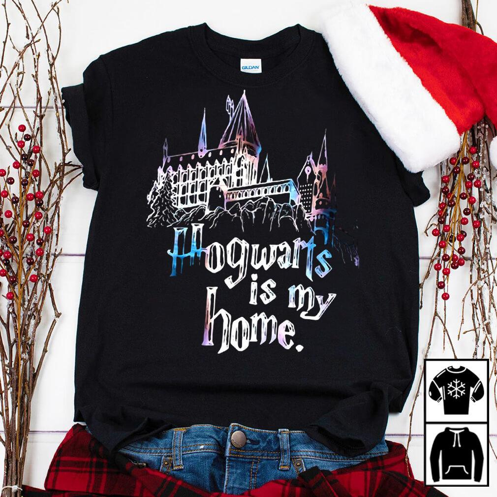 Harry Potter Halloween Hogwarts is my home teeker bell shirt