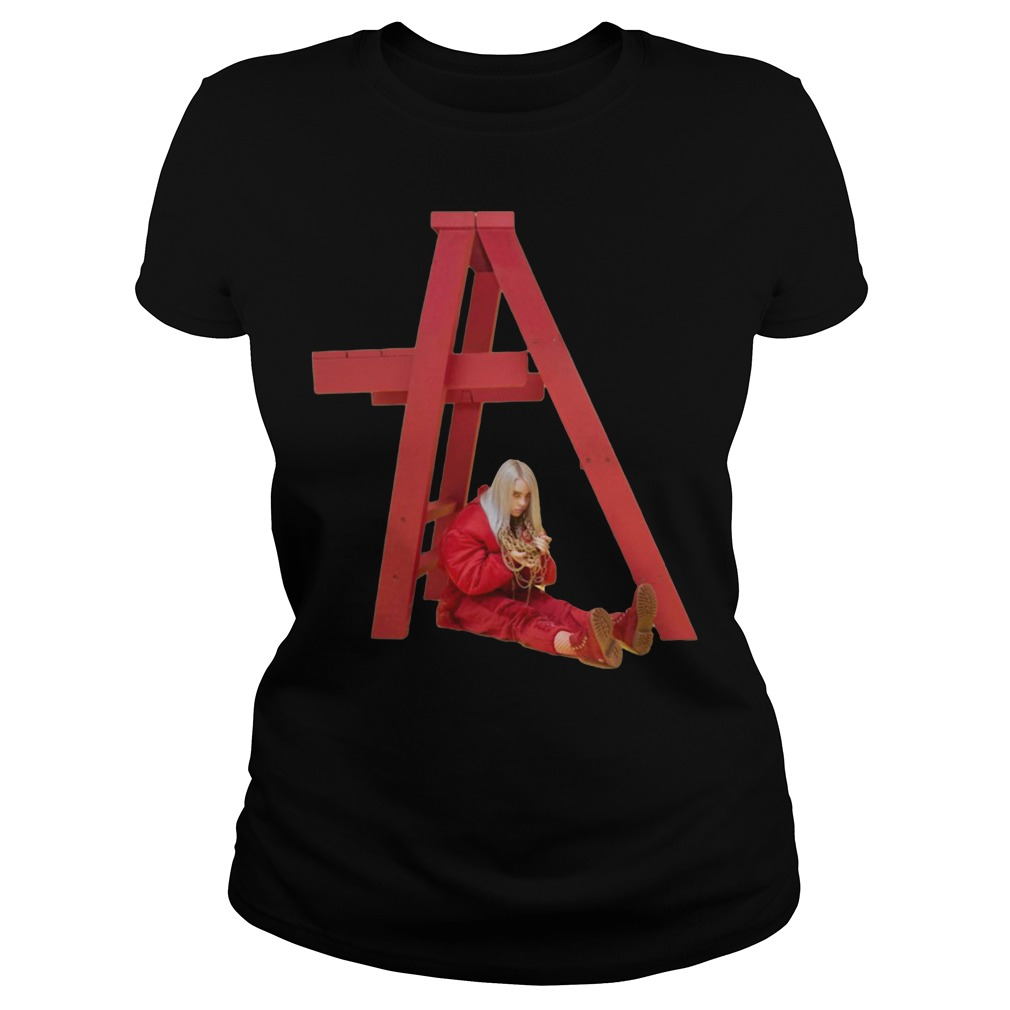 Billie Eilish Don't smile at me Ladies Tee