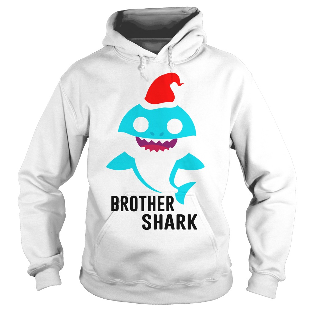 Brother shark Christmas Hoodie