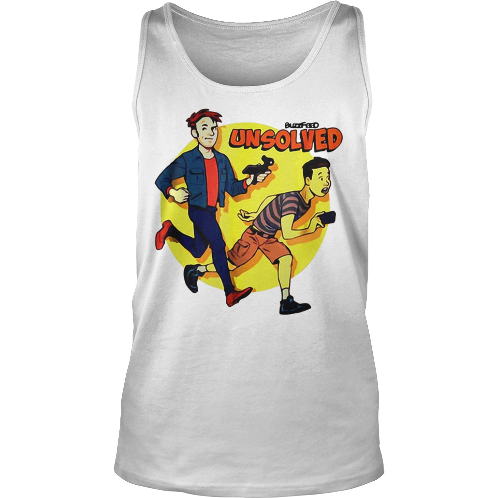 BuzzFeed Unsolved Saturday morning Ash Tank Top