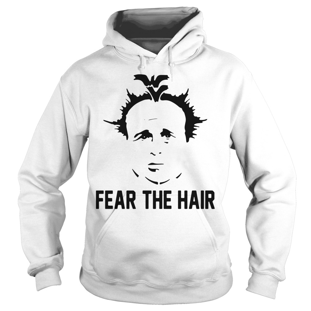 Dana Holgorsen Fear the hair hoodie