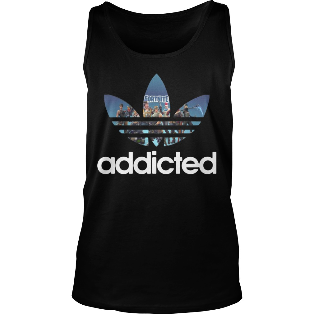 Fortnite Addicted Game Adidas Tank Top
