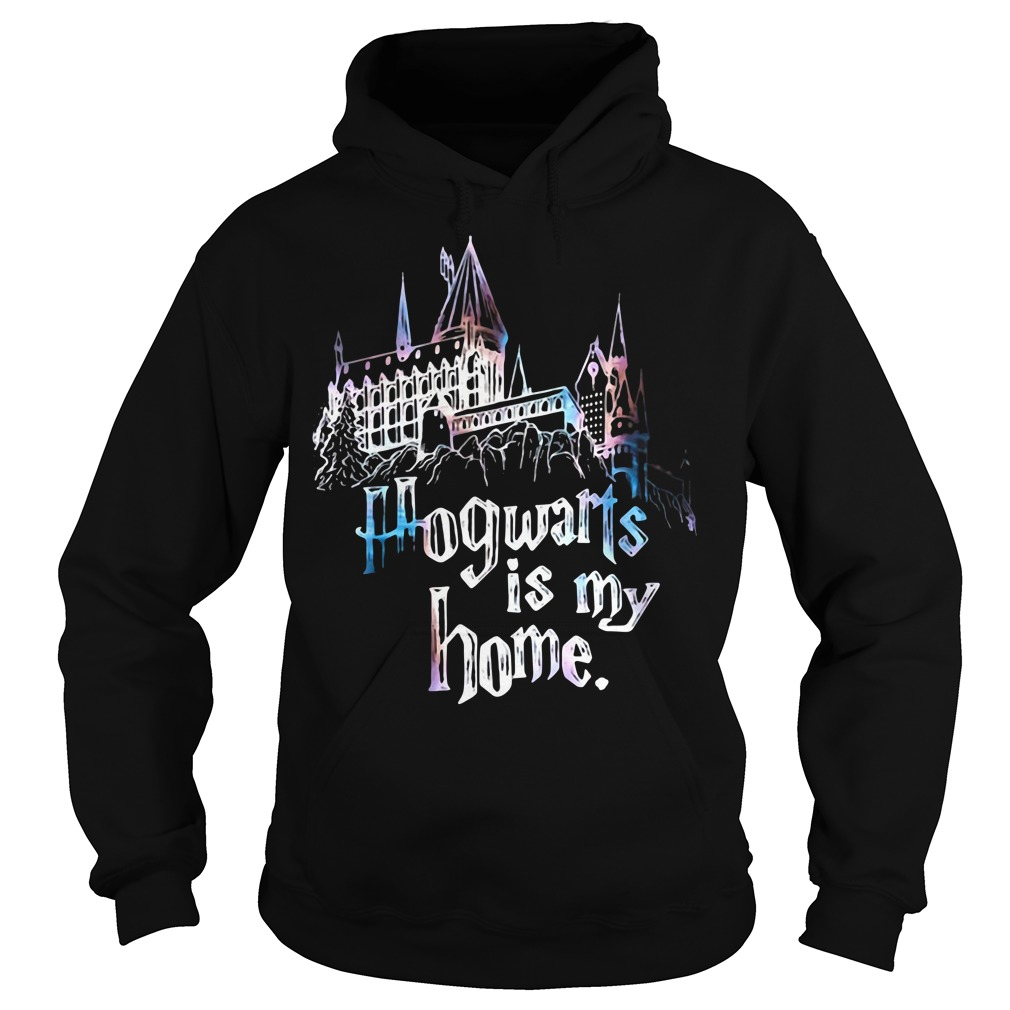 Harry Potter Halloween Hogwarts is my home teeker bell Hoodie