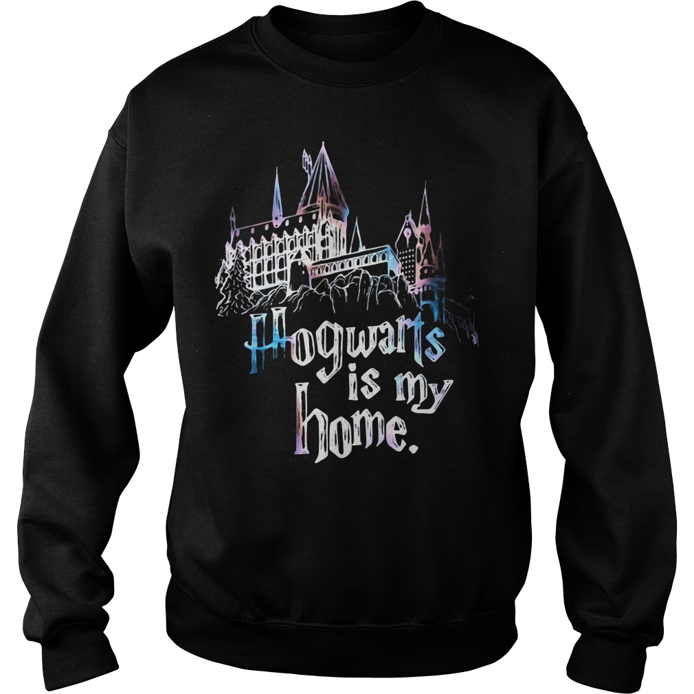 Harry Potter Halloween Hogwarts is my home teeker bell Sweater