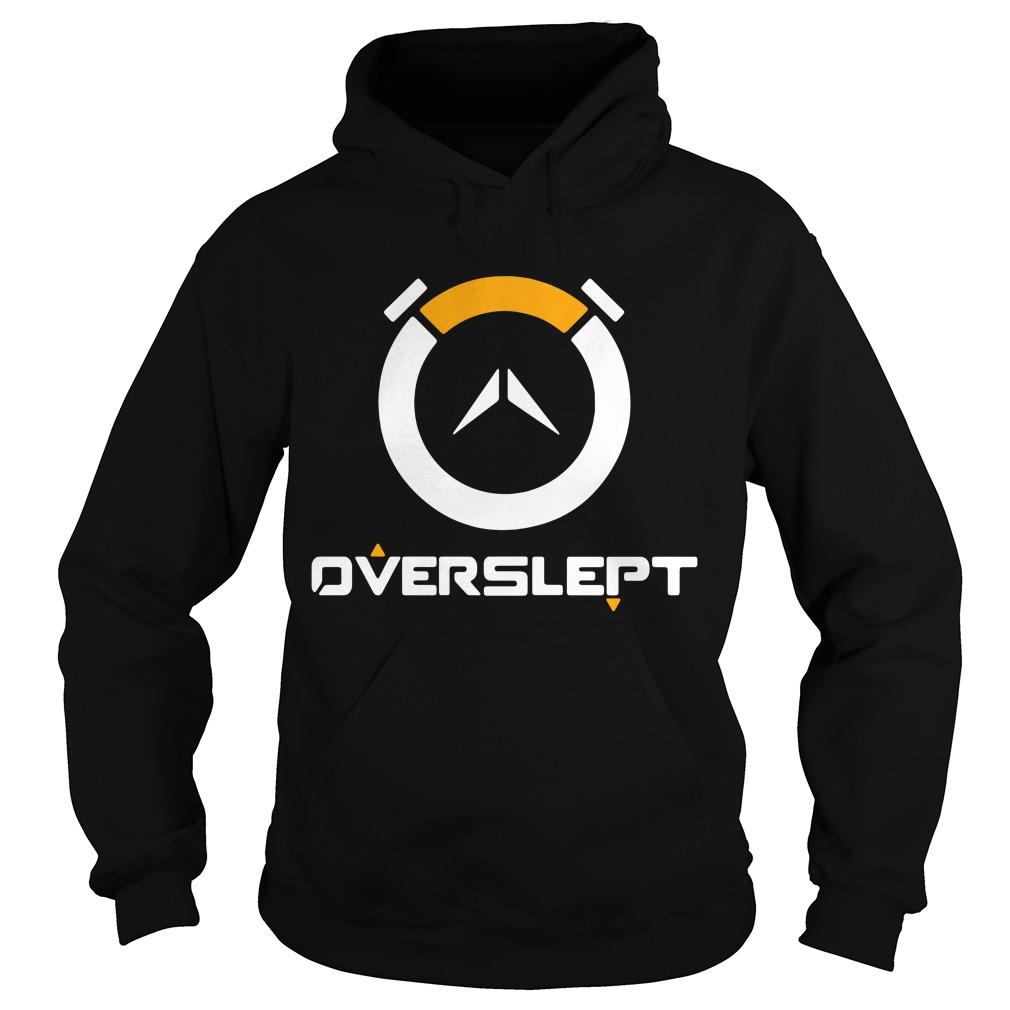 Overwatch Overslept black Hoodie