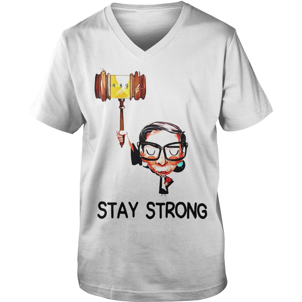 Ruth Stay strong Guy V-Neck