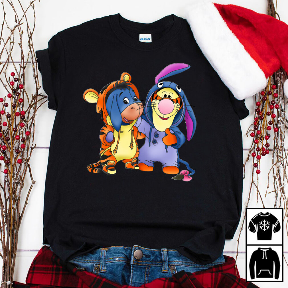 Tigger and Eeyore custome shirt