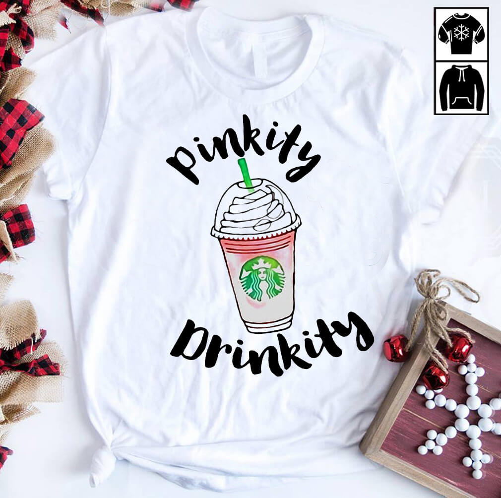 James Charles Pinkity Drinkity Starbucks shirt