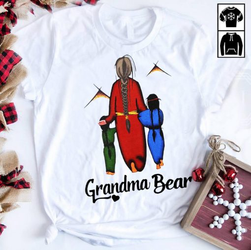 Native Americans Grandma bear shirt