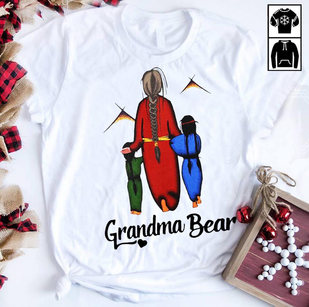 Native Americans Grandma bear shirt