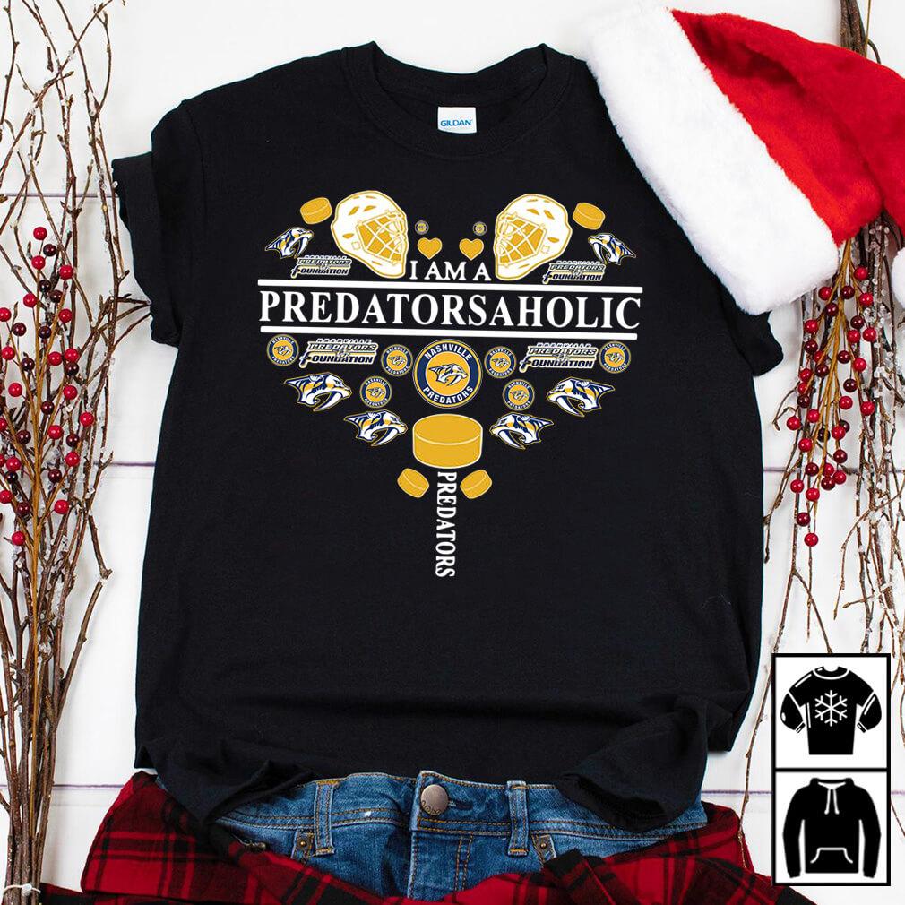 I am a predatorsaholic shirt