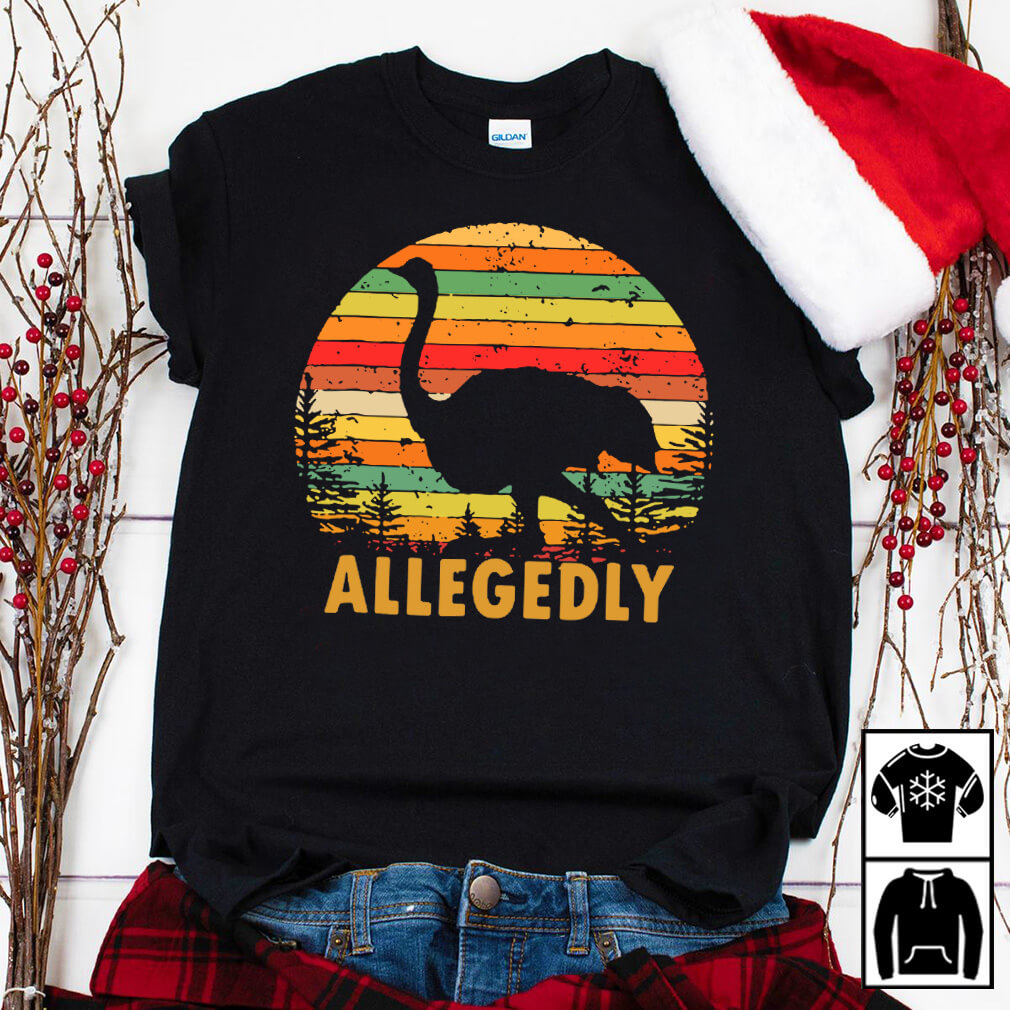 Allegedly Ostrich Retro shirt