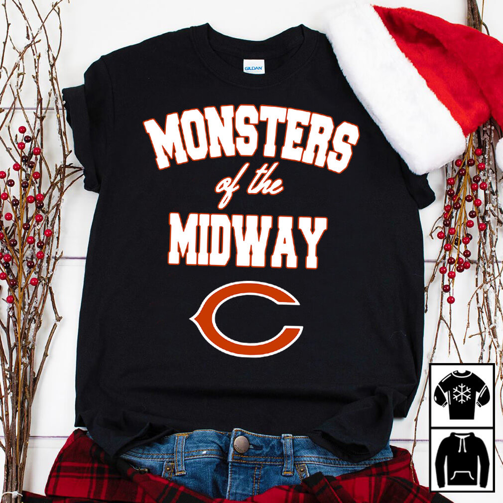 Chicago Bears Monster of the midway shirt