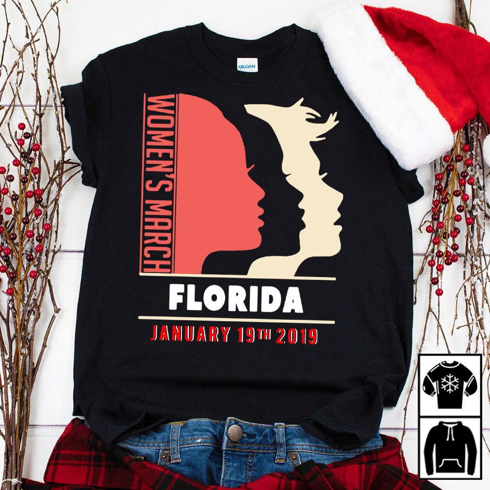 Women's March Florida day of action January 19 2019 shirt