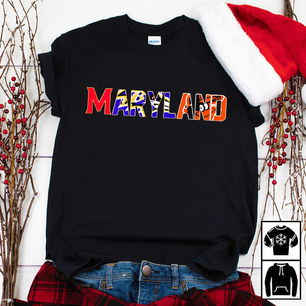 Maryland sport teams Baltimore Orioles shirt