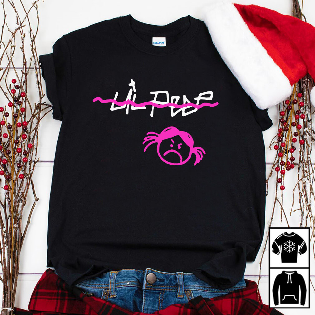 Lil Peep cry baby shirt