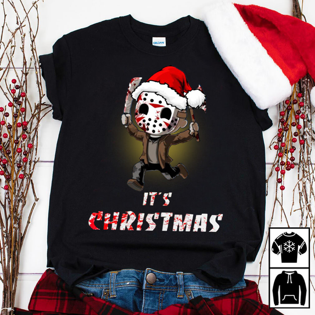 Jason Voorhees It's Christmas shirt