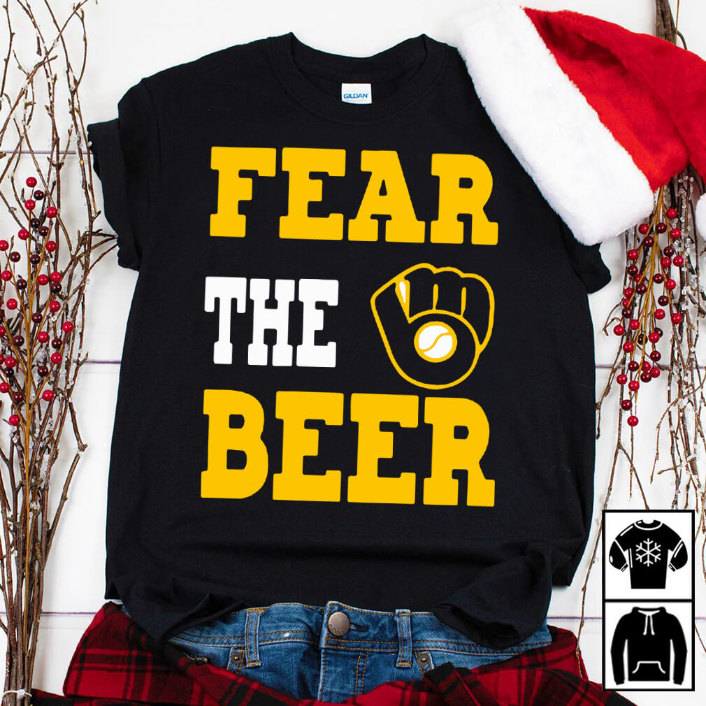 Milwaukee Brewers fear the beer shirt