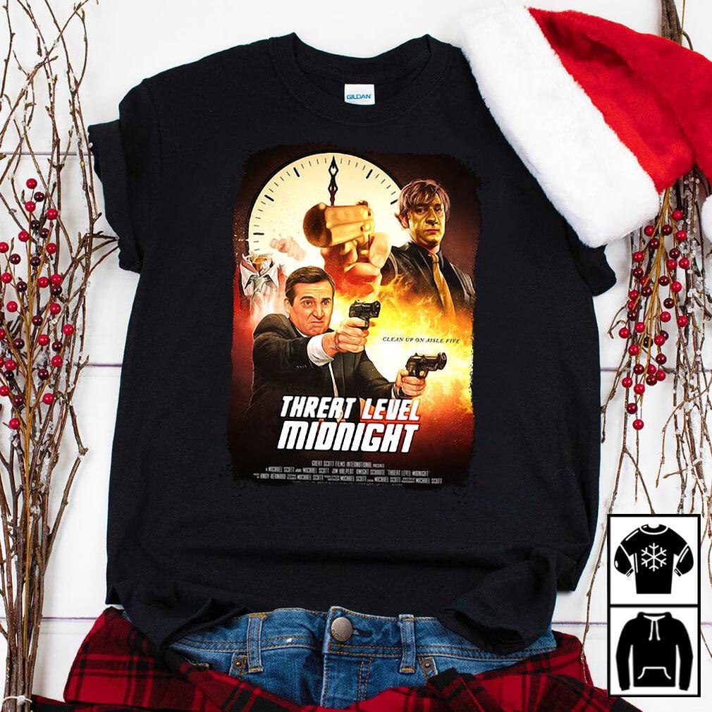 Threat level midnight on storenvy shirt