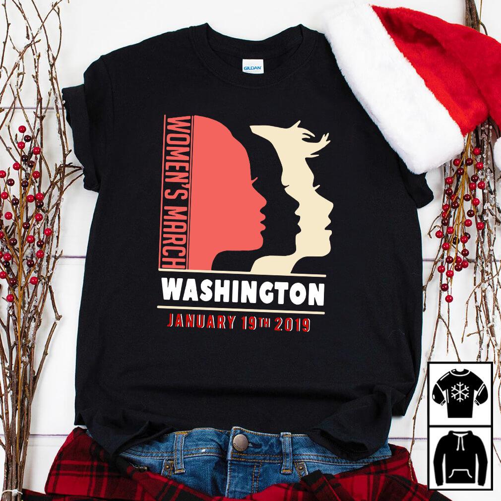 Women's March Washington day of action January 19 2019 shirt