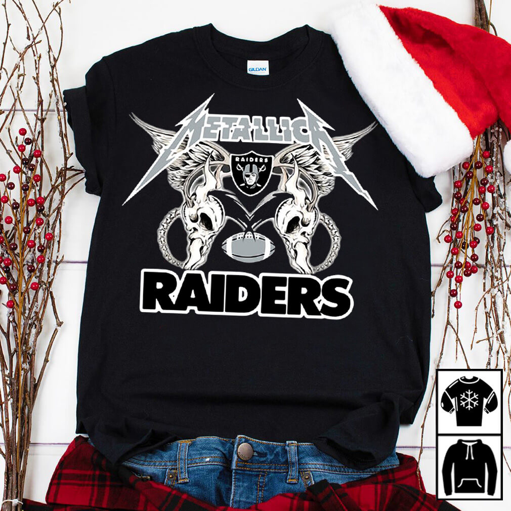 Metallica Oakland Raiders shirt