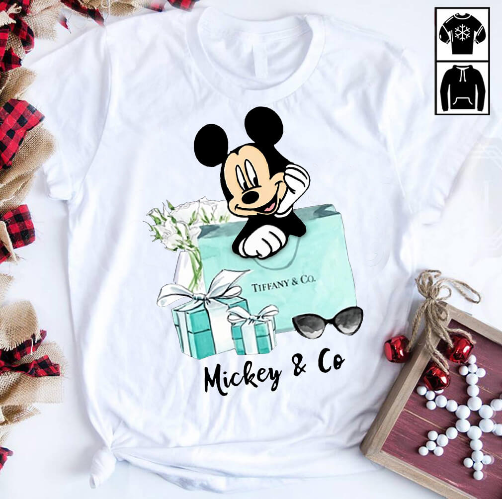 Mickey Tiffany and Co shirt