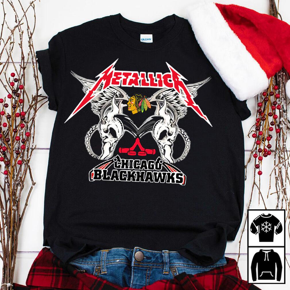 Metallica Chicago Blackhawks shirtMetallica Chicago Blackhawks shirt